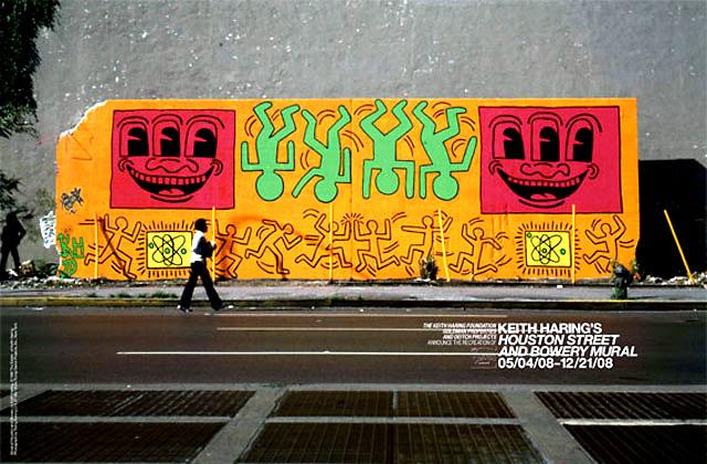 Улично изкуство, Кийт Харинг