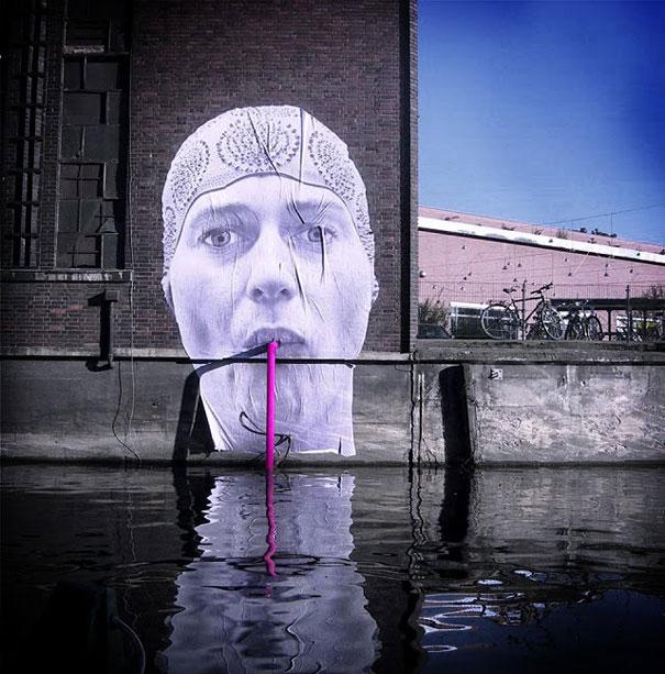 Улично изкуство. Рисунки по стени и пътища (11)