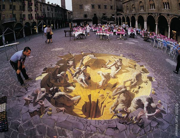 Улично изкуство. Рисунки по стени и пътища (13)