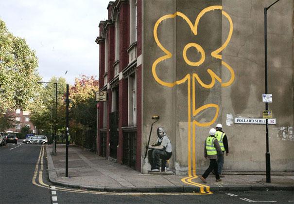 Улично изкуство. Рисунки по стени и пътища (14)