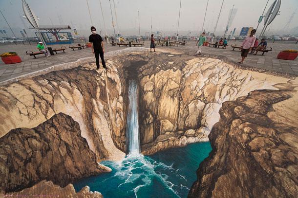 Улично изкуство. Рисунки по стени и пътища (19)