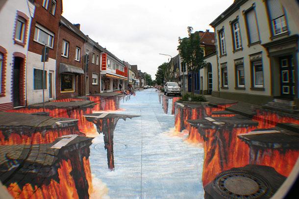 Улично изкуство. Рисунки по стени и пътища (21)