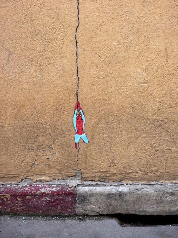 Улично изкуство. Рисунки по стени и пътища (7)