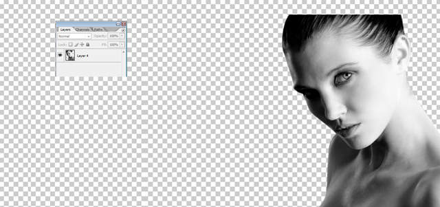 Урок по Photoshop: Дублиране на слоя и задаване опцията Desatured на снимката