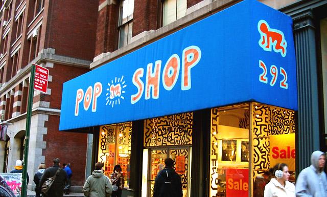 Pop Shop - магазинът на Кийт Харинг