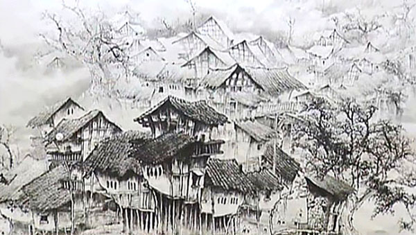 Най-известната творба на Хуан Гу Фу