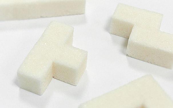 Забвен офис: Тетрис захар за сутрешното офис кафе (2)