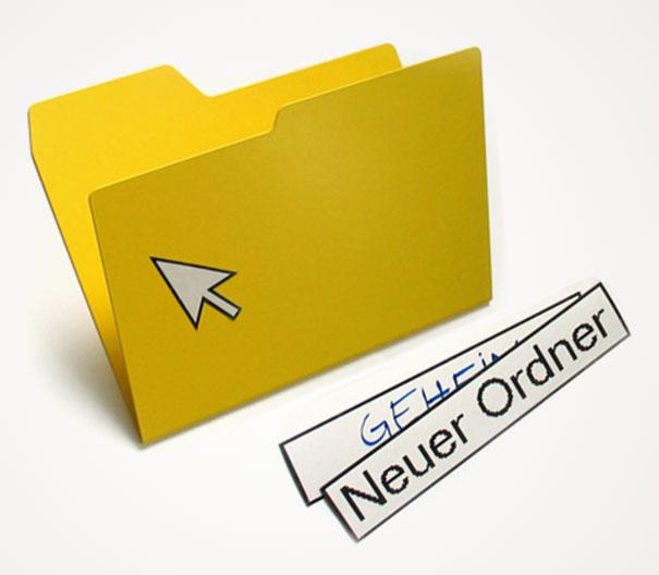 Забавен офис: Офис папки за личните документи