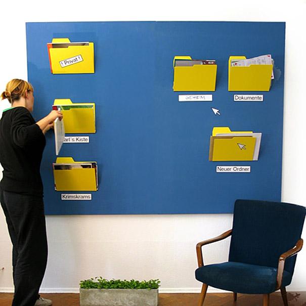 Забавен офис: Офис папки за личните документи (2)