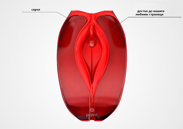 Забавен офис: Интимна компютърна мишка