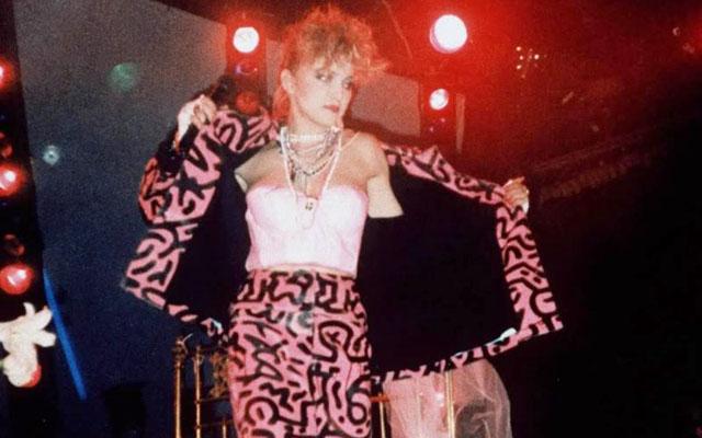 Рисунките на Кийт по якето на Мадона