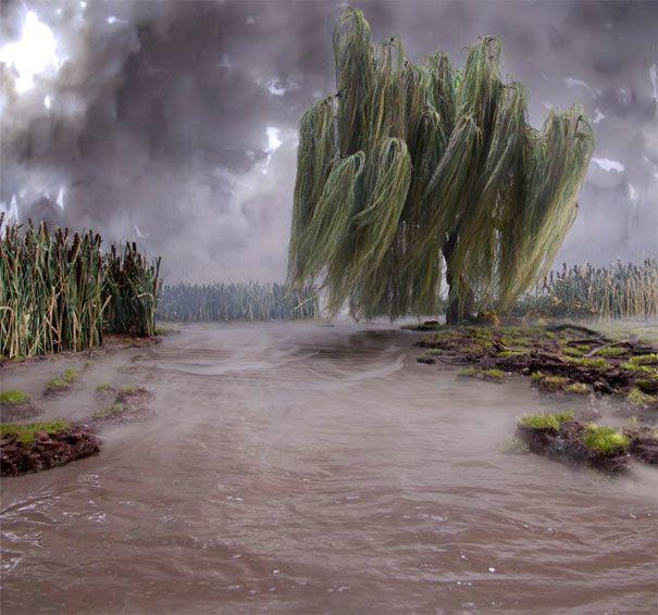 Диорама на река Хоризон