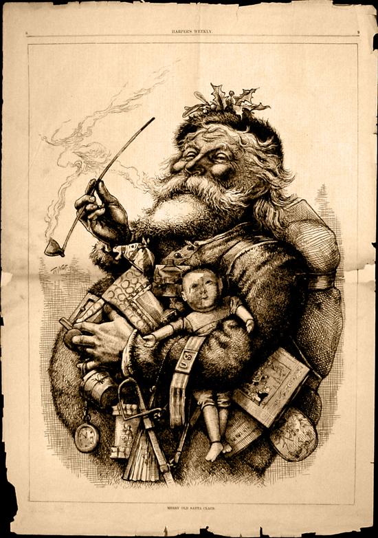 Рисунка на Санта Клаус - Дядо Коледа