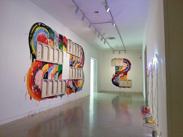 Изложба на Ричард Джексън - атрактивни творби