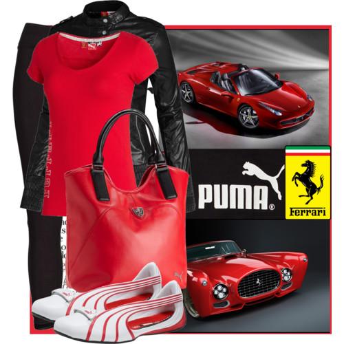 Маркетинг на търговските марки - Puma&Ferrari