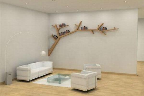 Еко аксесоар за дома - лавица от дърво