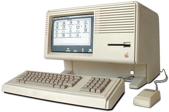 Apple Lisa първият компютър с графичен интерфейс, работещ с мишка
