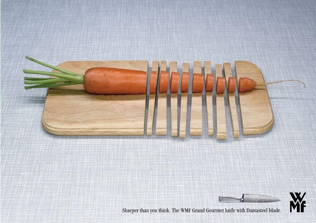 Елегантна реклама на американски ножове
