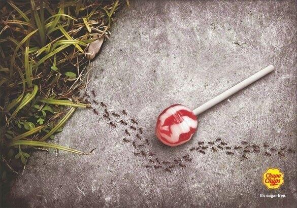 Реклама на близалки без захар