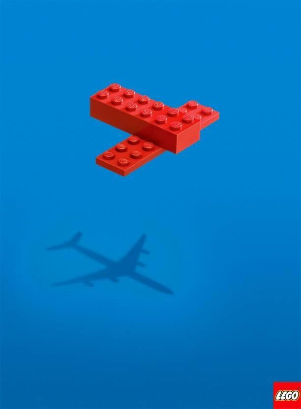Печатна реклама на Lego