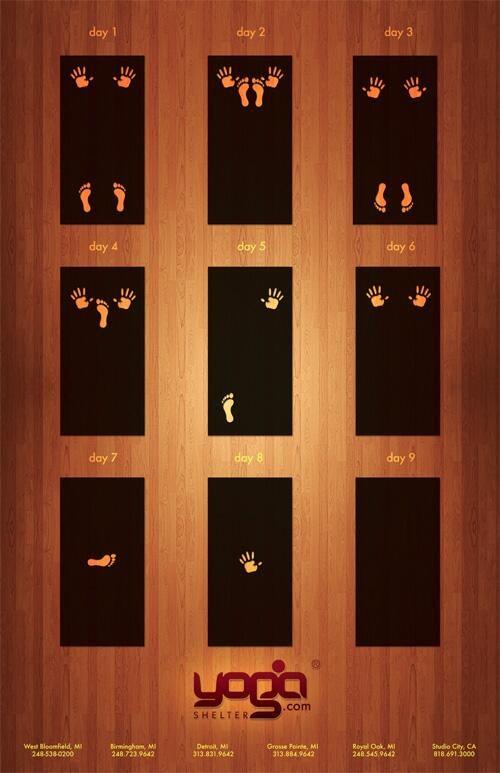Печатна реклама на Yoga център