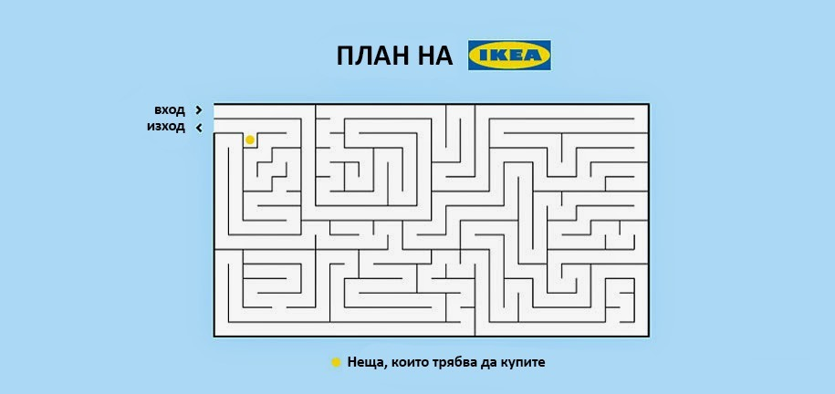 План на Икеа