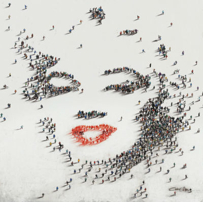 Портрет на Мерлин Монро от Крейг Алан