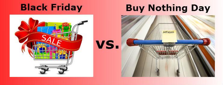 Черен петък срещу денят без покупки