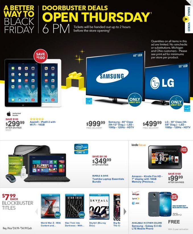 Какво се случва в Best Buy в деня на черния петък