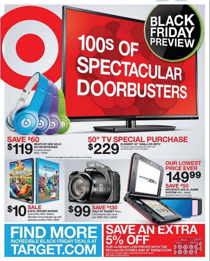 Какво се случва в Target в деня на черния петък