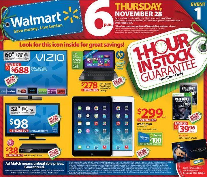 Какво се случва в Wallmart в деня на черния петък