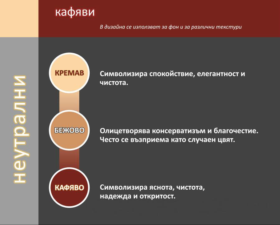 психология на цветовете кафяви