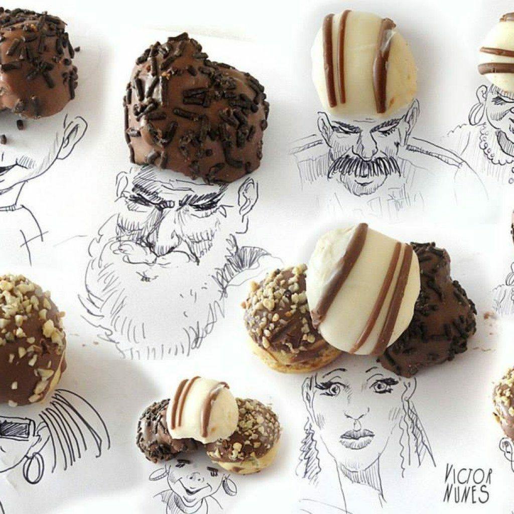 Виктор Нунес - креативни и забавни илюстрации