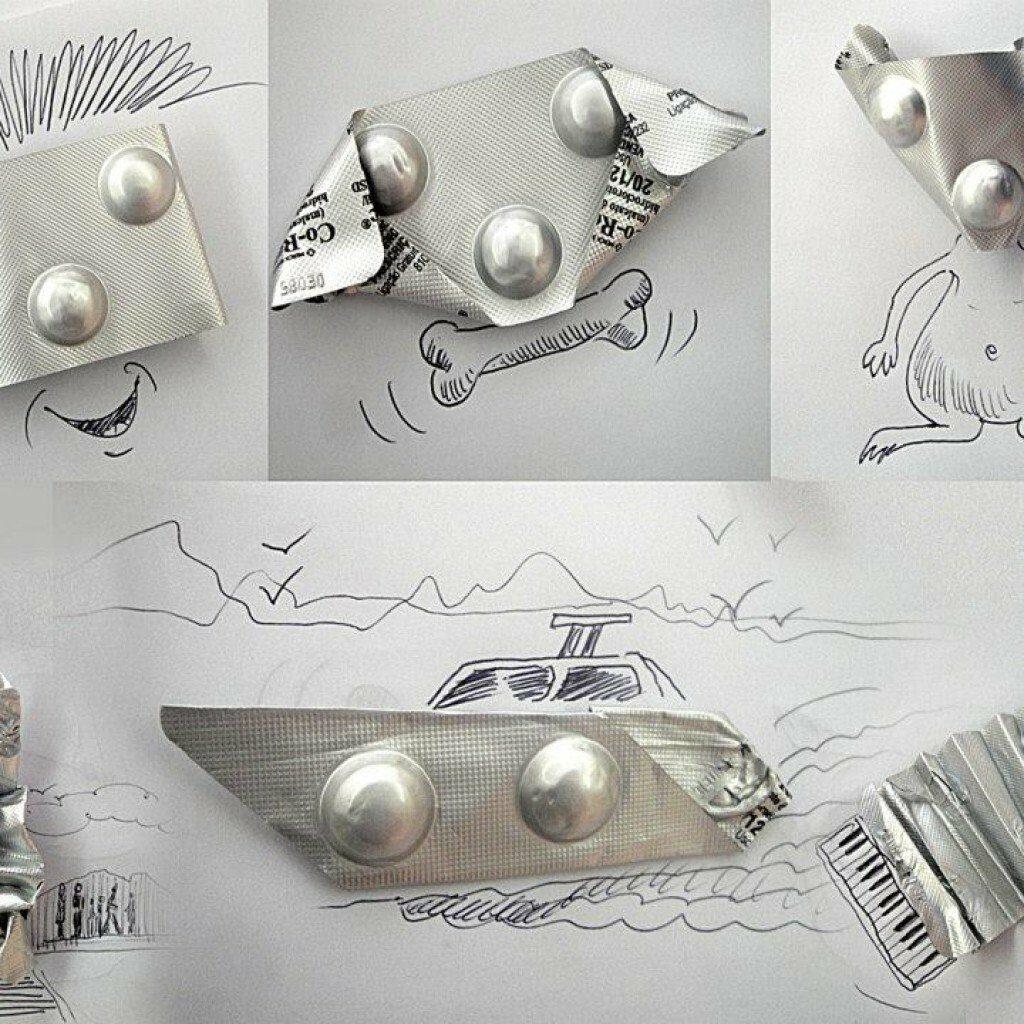 Илюстрации с блистер - Виктор Нунес