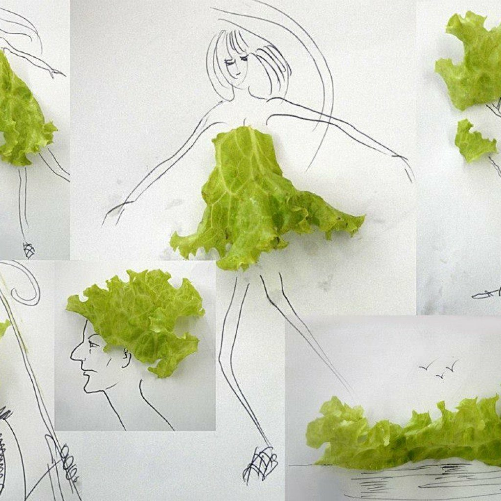 Илюстрации с маруля - Виктор Нунес