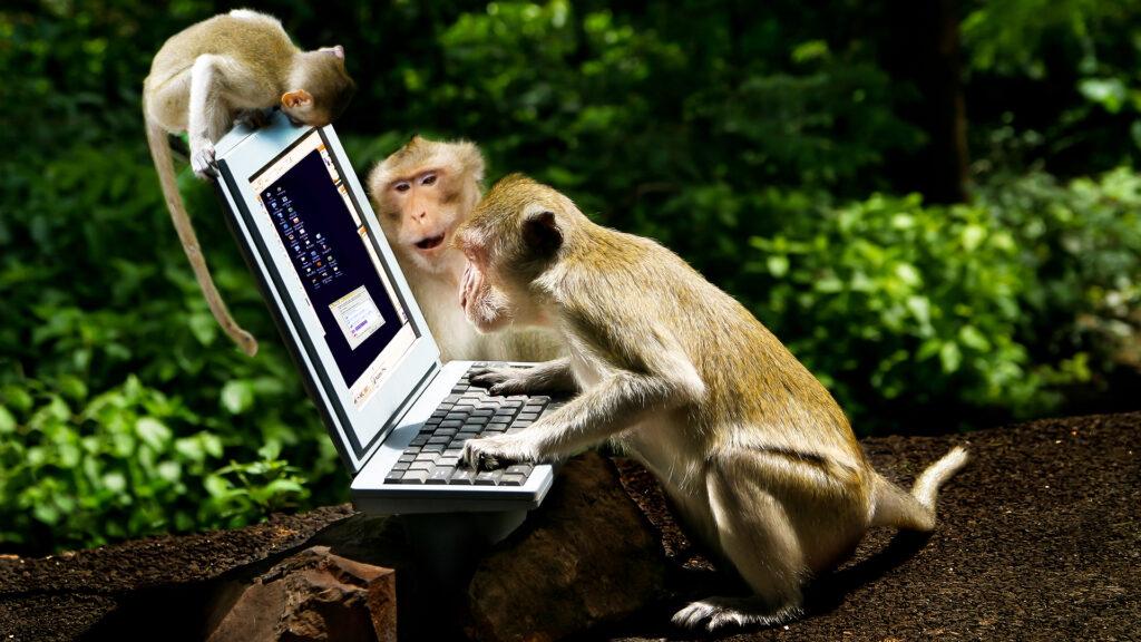 Историята на маймунското А