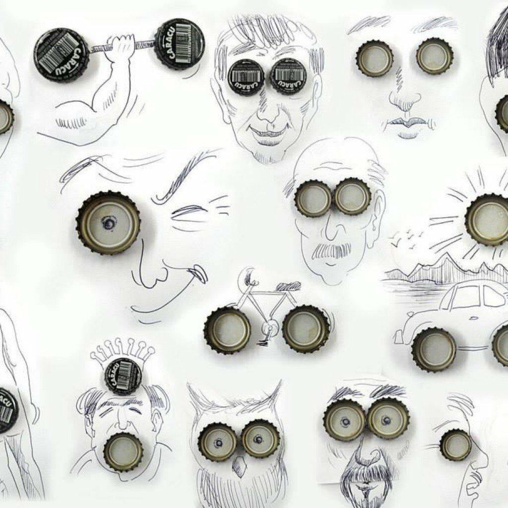 Креативни илюстрации на Виктор Нунес