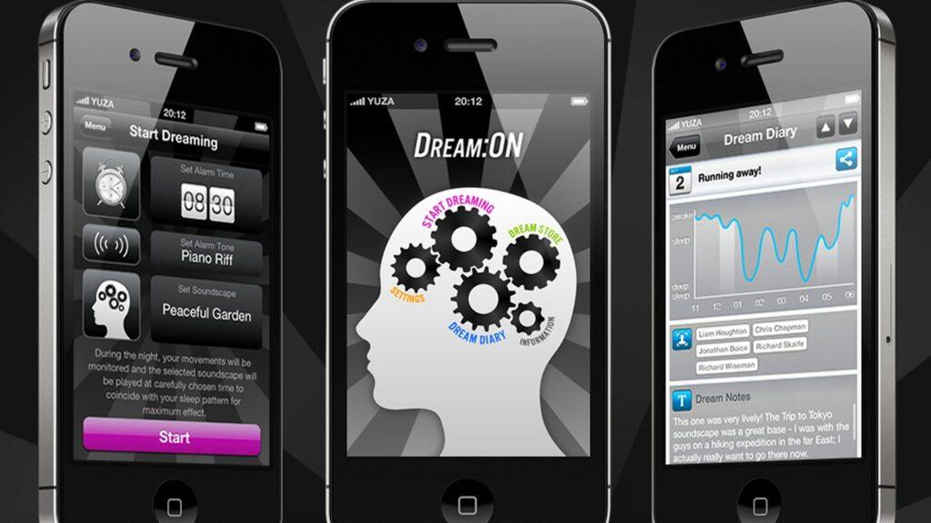 Приложението за iPhone - Dream on проектира съня