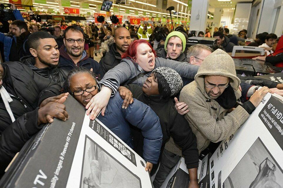Black friday - черен петък в Америка, снимка