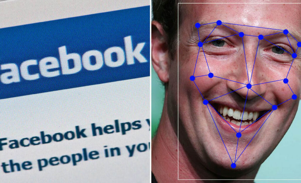 Facebook лицево разпознаване чрез изкествен интелект